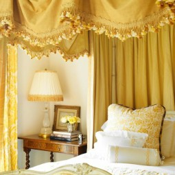 Aristokratisches schlafzimmer interieur schoene gardinen ideen.jpg