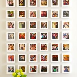 ein paar kreative weisen wie man fotos aufh ngen kann. Black Bedroom Furniture Sets. Home Design Ideas