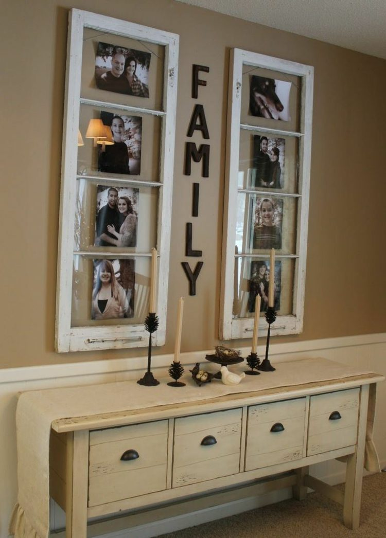 alte fenster zur dekoration im haus. Black Bedroom Furniture Sets. Home Design Ideas