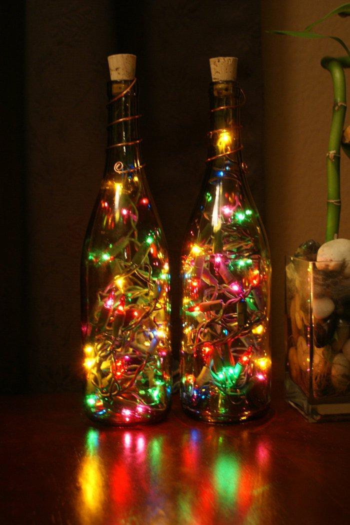 Kreative Lampen und Leuchten aus Glasflaschen :)) - nettetipps.de