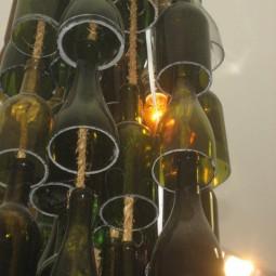 diy lampen und leuchten aus glasflaschen. Black Bedroom Furniture Sets. Home Design Ideas