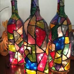 Diy lampen und leuchten led lampen orientalische lampen lampe mit bewegungsmelder designer lampen glas anmalen.jpg