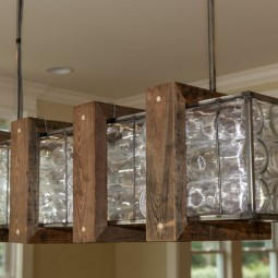 Design lampen holz  Kreative Lampen und Leuchten aus Glasflaschen :)) - nettetipps.de