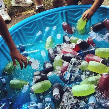 Drinks in kiddy pool.jpg