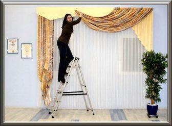 Wie kann man gardinen aufhängen