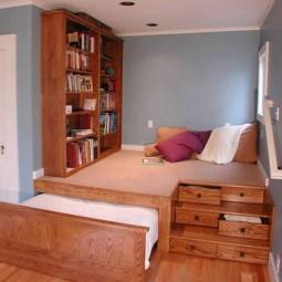platzsparende ideen f r euer schlaf oder wohnzimmer. Black Bedroom Furniture Sets. Home Design Ideas
