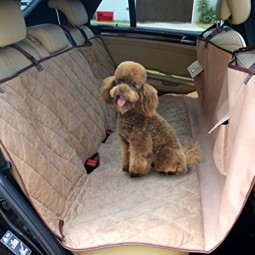 New 57 x 56 deluxe dog hammock pet car seat cover newest model ezy clean polyester microsuede waterproof pvc backing extra safety for small to large dogs all pets best tear resistant triple stitched h 0.jpg