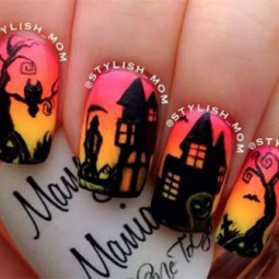 20 amazing halloween nail art designs ideas trends stickers 2014 18.jpg