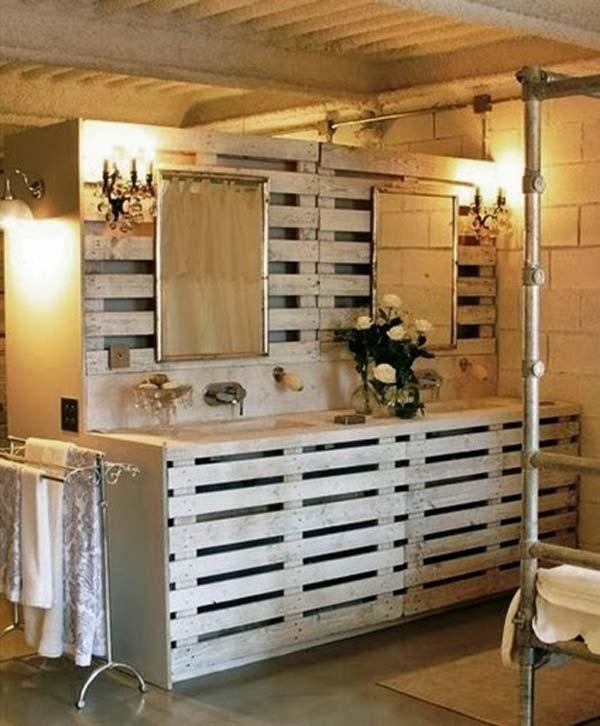Palletenmöbel diy palleten möbel für euer badezimmer nettetipps de