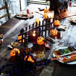 Halloween Tischdeko Nettetipps De