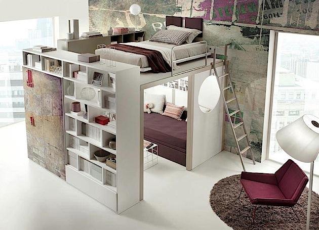 kreative einrichtungsideen f r kleine r ume. Black Bedroom Furniture Sets. Home Design Ideas