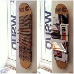 Möbel aus alten Skateboards :) - nettetipps.de
