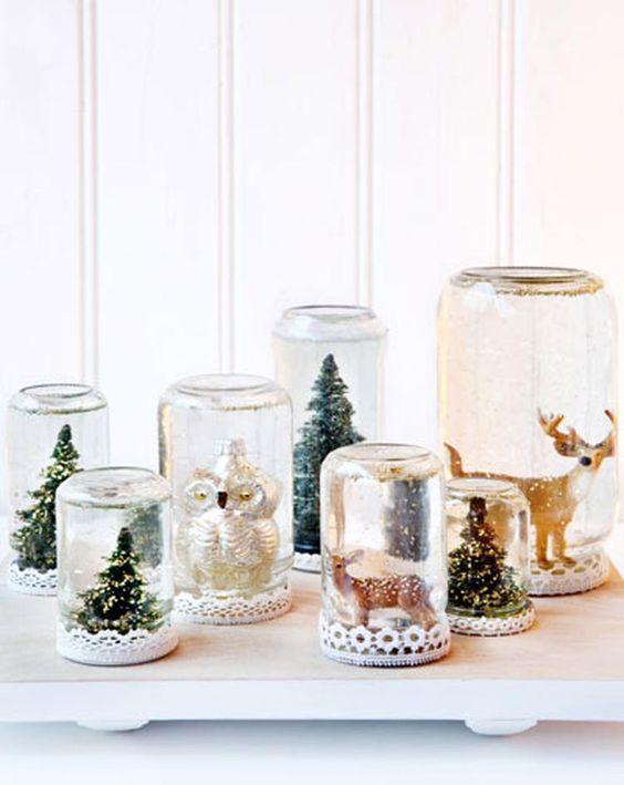 Weihnachtsdeko ideen im glas - Adventsdeko ideen ...