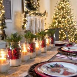 Weihnachtsfeier Dekoration.Tolle Tischdeko Ideen Für Weihnachtsfeier Nettetipps De