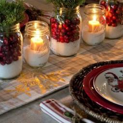 Tolle Tischdeko Ideen Für Weihnachtsfeier Nettetippsde