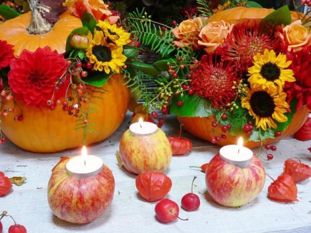 Apfel-Kerze, Schnelle Und Einfache Dekoration Für Alle
