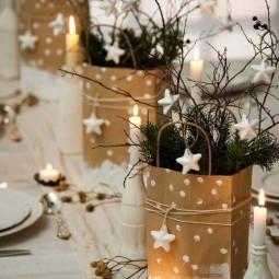tolle tischdeko ideen f r weihnachtsfeier. Black Bedroom Furniture Sets. Home Design Ideas