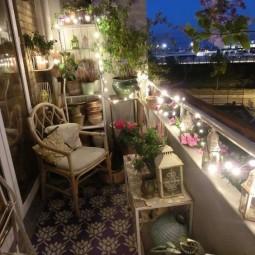 Balkon Hubsch Und Bequem Fur Den Winter Dekorieren Nettetipps De