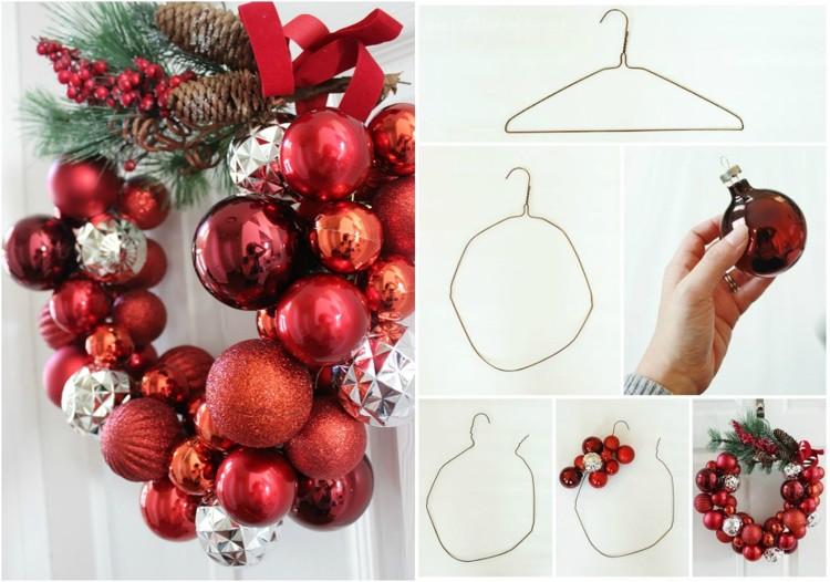 Kranz Aus Weihnachtskugeln : t rkranz weihnachtskugeln my blog ~ Lizthompson.info Haus und Dekorationen