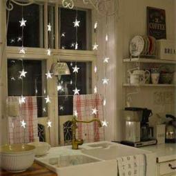 Küchenfenster dekorieren  Weihnachtliches Küchenfenster :) - nettetipps.de