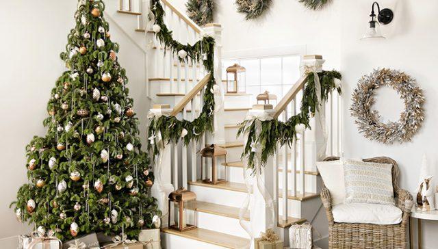 Treppen Fur Die Weihnachten Dekorieren Nettetipps De