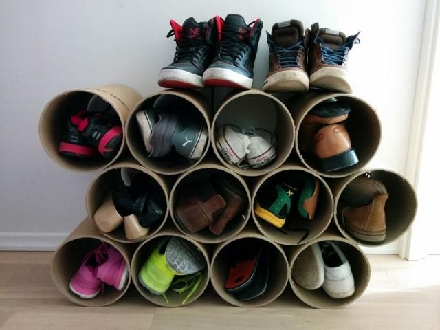 Die Schuhe Kreativ Aufbewahren P Nettetipps De