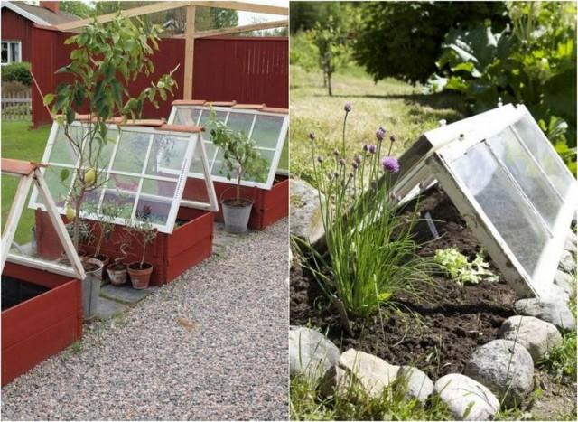 Fensterdeko pfiffige diy ideen aus alten fensterrahmen for Gartendeko alte fenster