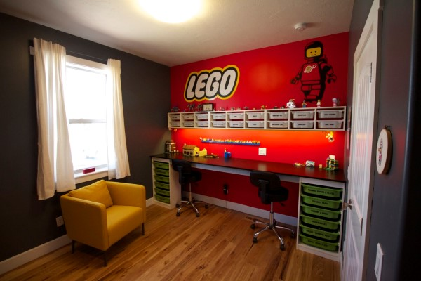 20 coole ideen f r ein lego kinderzimmer. Black Bedroom Furniture Sets. Home Design Ideas