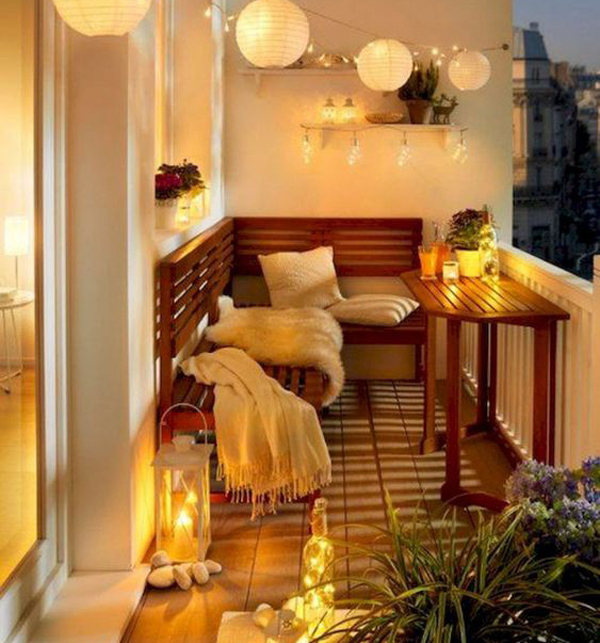 Balkong Inspiration Apartment Balconies