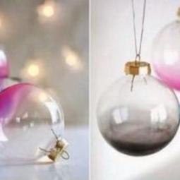 diy durchsichtige weihnachtskugeln dekorieren. Black Bedroom Furniture Sets. Home Design Ideas