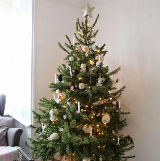 super kreative ideen f r einen vintage weihnachtsbaum. Black Bedroom Furniture Sets. Home Design Ideas
