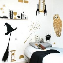 harry potter zimmer. Black Bedroom Furniture Sets. Home Design Ideas