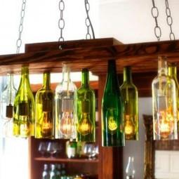 Diy deko mit glasflaschen bastelideen kronleuchter aus weinflaschen.jpg