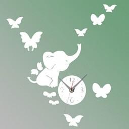 Elephantsbutterflystickerdiymirrorwallclock3dhomedecoration sku177873 4 800x800.jpg