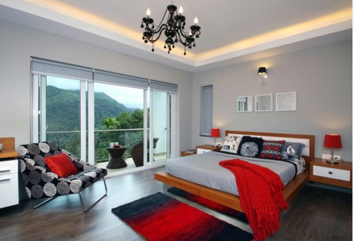 ideale farbe im schlafzimmer. Black Bedroom Furniture Sets. Home Design Ideas