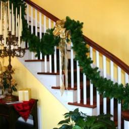 treppengel nder weihnachtlich schm cken. Black Bedroom Furniture Sets. Home Design Ideas