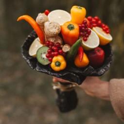 Jedle kytice z ovocia a zeleniny nevyhodite nic nevyjde nazmar 4.jpg