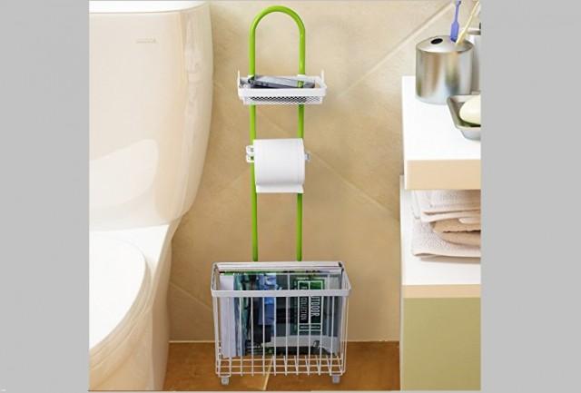 Lifewit magazine rack toilet roll paper caddy holder free standing tissue storage bathroom organizer shelf 0 0.jpg