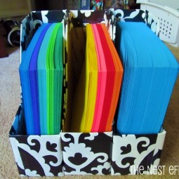 Organize special papers tissues and gift bags.jpg
