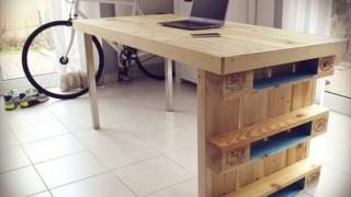 Schreibtisch selbst bauen interessanter computertisch aus holz.jpg
