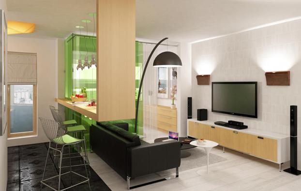 tolle platzsparende ideen f r kleine wohnungen. Black Bedroom Furniture Sets. Home Design Ideas