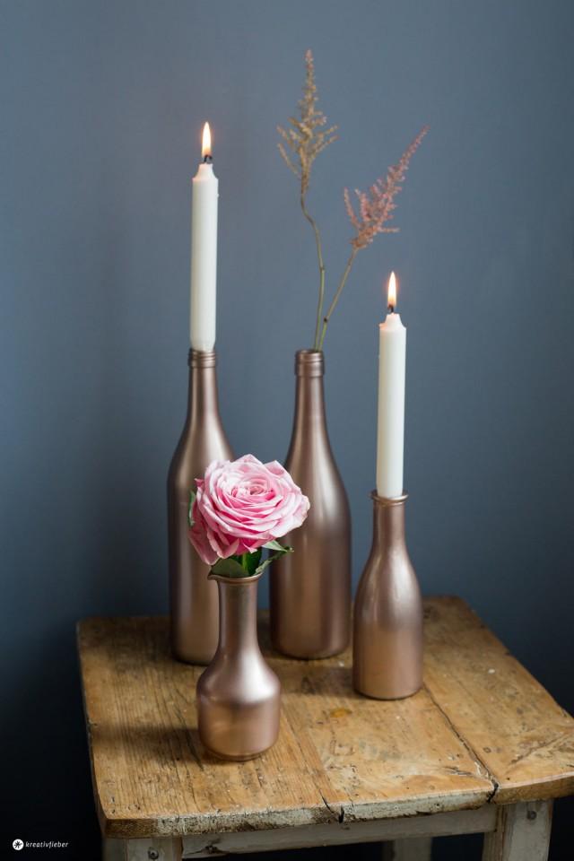 sch ne diy metallische dekoration f r eure wohnung. Black Bedroom Furniture Sets. Home Design Ideas