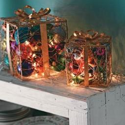 Weihnachtslichterketten dekoration - Weihnachtslichterketten innen ...
