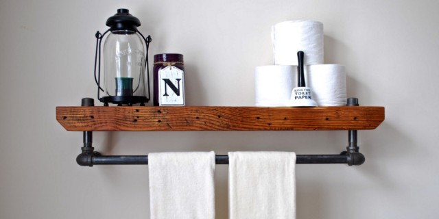Bathroom Shelves Diy Ideas