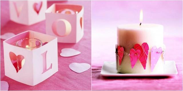 Deko Ideen Mit Kerzen Zum Valentinstag Nettetipps De