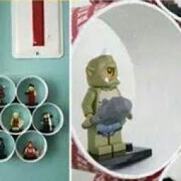 diy mini regal f r spielzeug. Black Bedroom Furniture Sets. Home Design Ideas