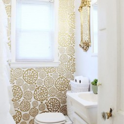 Diy projects to make your rental home look more expensive decal wallpaper.jpg