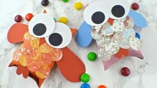 Herbst basteln kindern eulen klorollen papier bonbons 1.jpg
