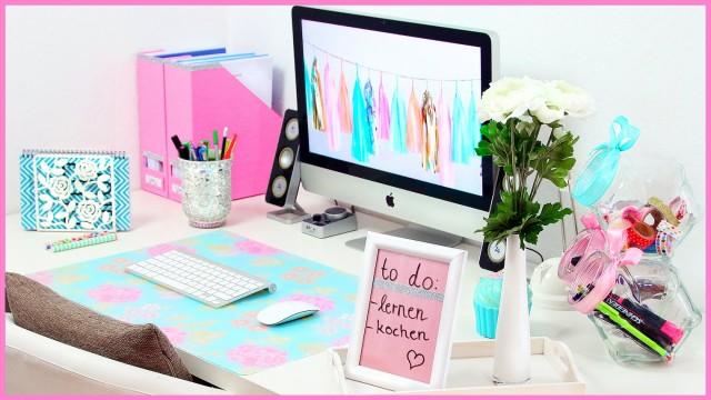 Schreibtisch organisieren ideen tipps - Schreibtisch tumblr ...