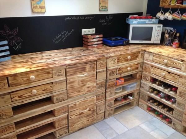 Verwendung für alte Paletten in der Küche :) - nettetipps.de
